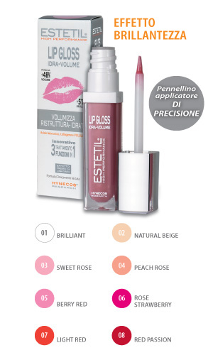 Lip Gloss Idra Volume 3 in 1